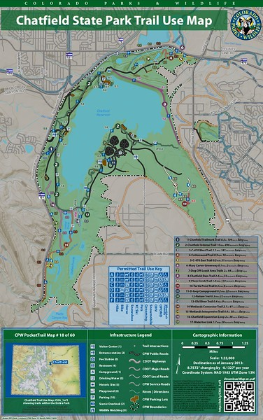 Chatfield State Park (Trail Map)