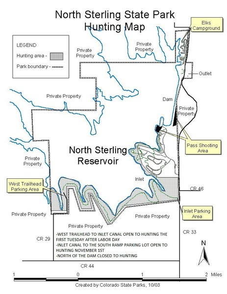 North Sterling State Park (Hunting Map)