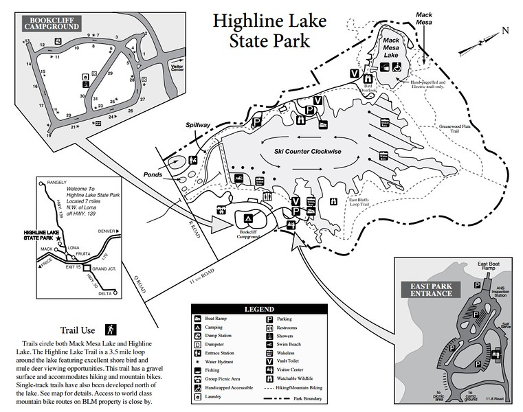 Highline Lake State Park