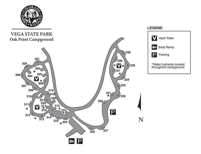 Vega State Park (Oak Point Campground)