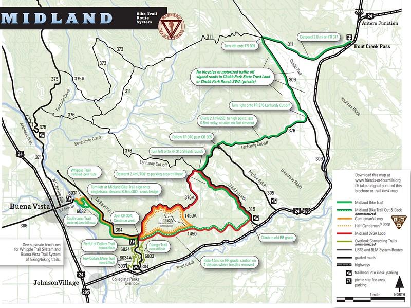 Arkansas Headwaters Recreation Area (Midland Bike Trail System)