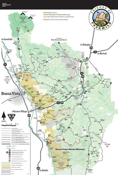Arkansas Headwaters Recreation Area (Fourmile Area)