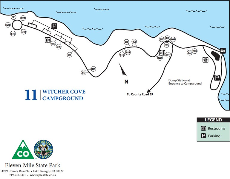 Eleven Mile State Park (Witcher Cove Campground)