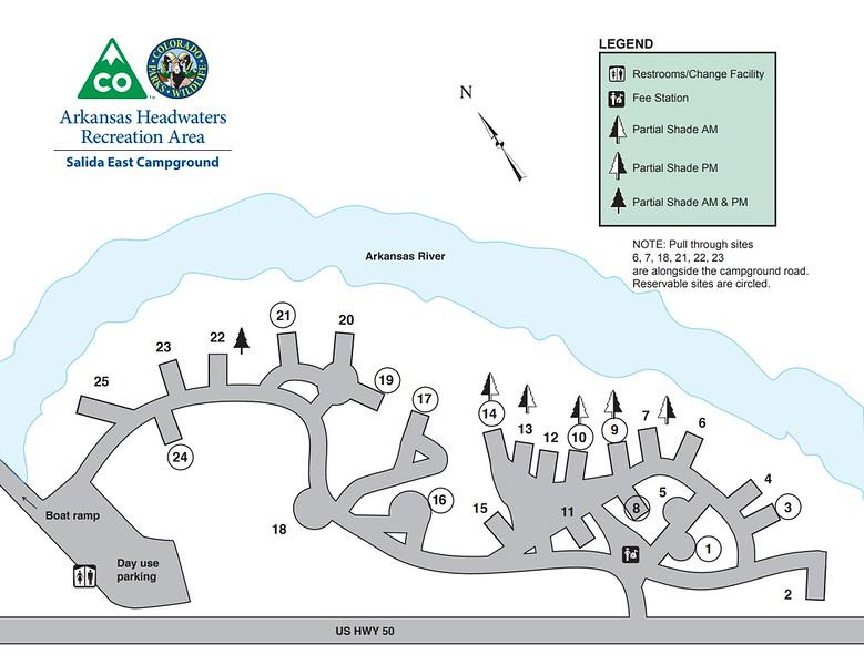 Arkansas Headwaters Recreation Area (Salida East Campground)