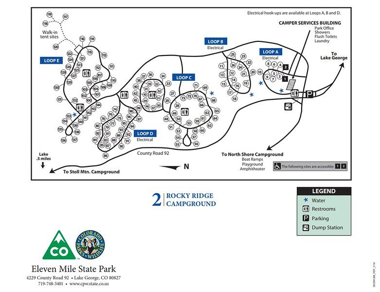 Eleven Mile State Park (Rocky Ridge Campground)