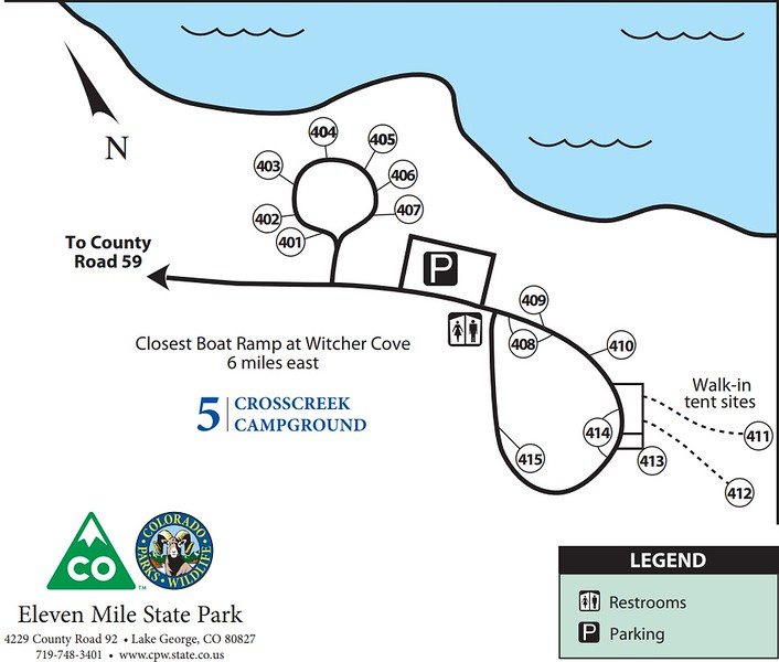 Eleven Mile State Park (Cross Creek Campground)