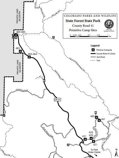State Forest State Park (Primitive Camp Sites - County Road 41 Area)