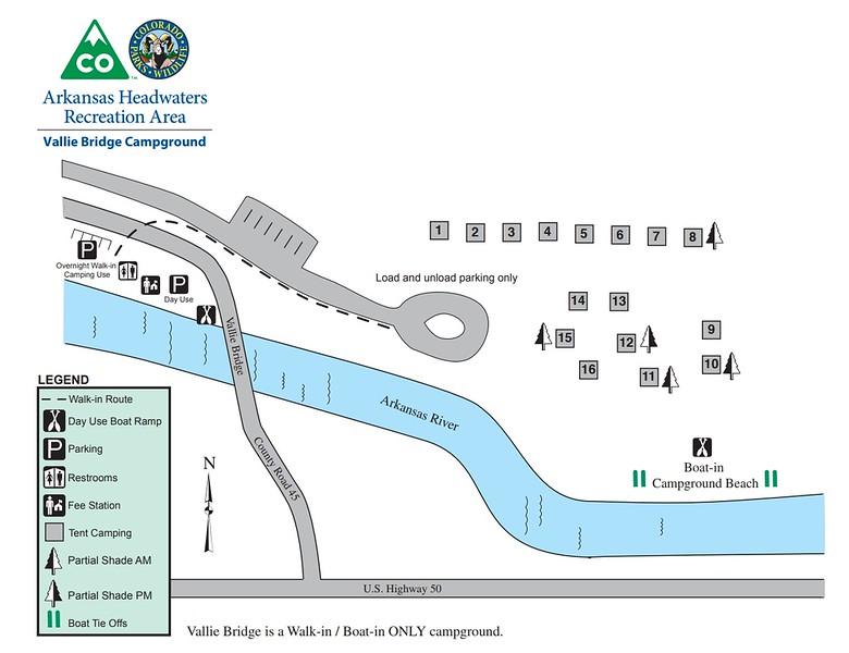 Arkansas Headwaters Recreation Area (Vallie Bridge Campground)