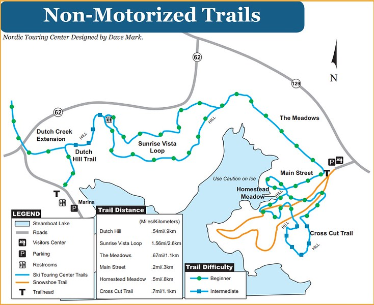 Steamboat Lake State Park (Non-Motorized Trails)
