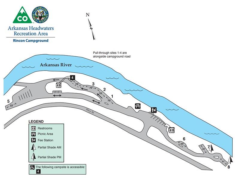 Arkansas Headwaters Recreation Area (Rincon Campground)