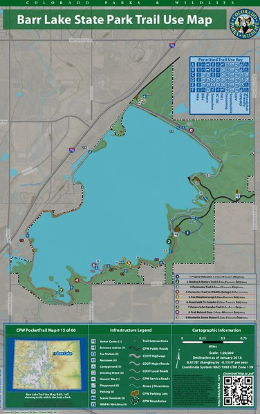 Barr Lake State Park (Trail Map)