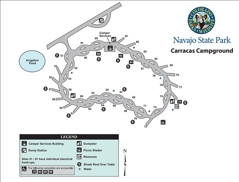 Navajo State Park (Carracas Campground)
