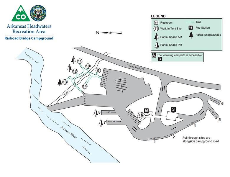 Arkansas Headwaters Recreation Area (Railroad Bridge Campground)