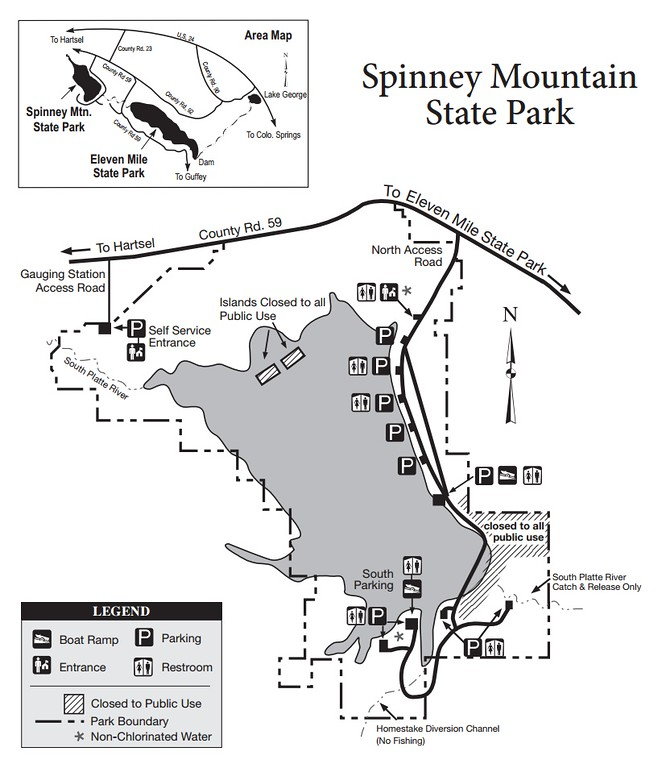 Spinney Mountain State Park