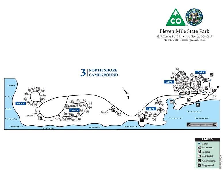 Eleven Mile State Park (North Shore Campground)