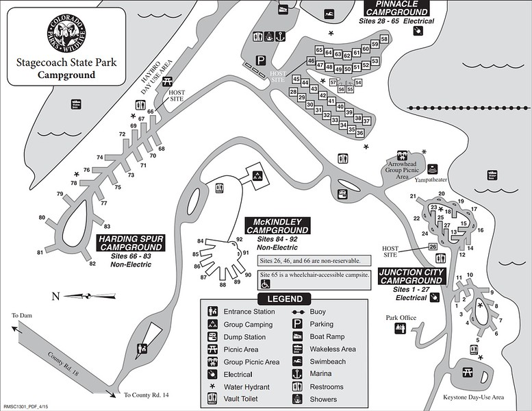 Stagecoach State Park (Campgrounds Map)