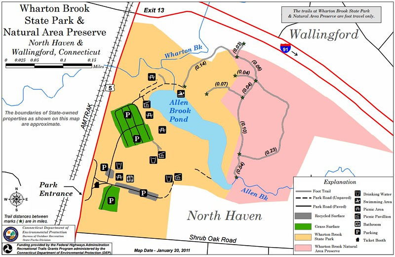 Wharton Brook State Park