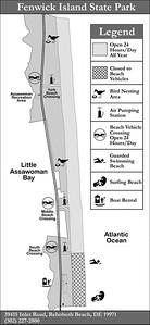 Fenwick Island State Park (Fishing Areas Map)