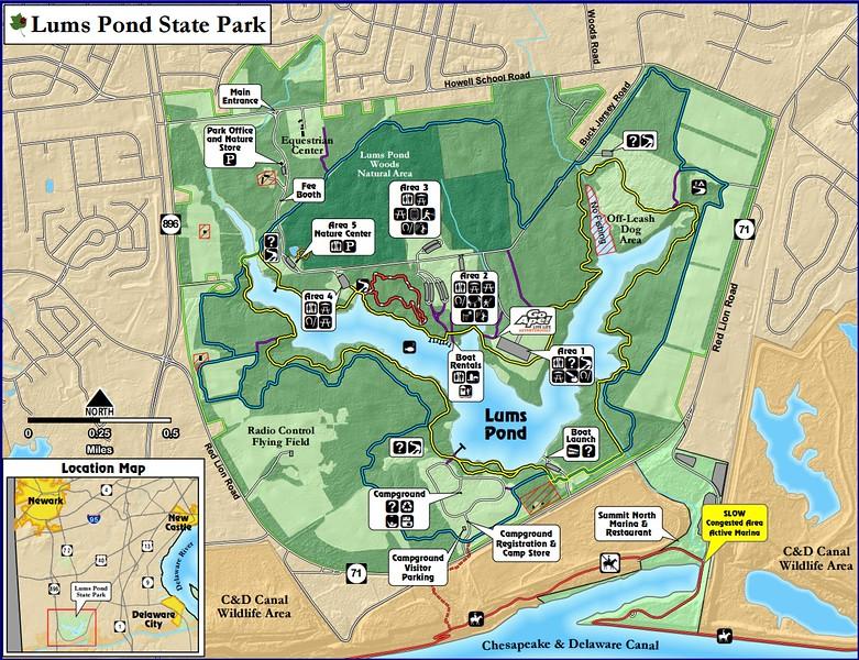 Lum's Pond State Park