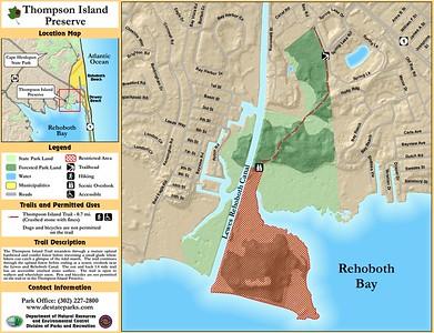 Delaware Seashore State Park (Thompson Island Preserve)