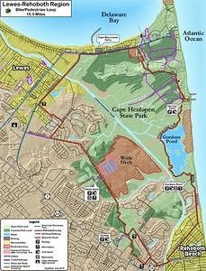 Cape Henlopen State Park (Regional Loop Trail)