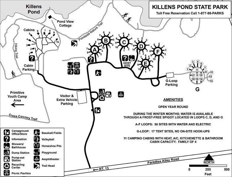 Killens Pond State Park (Campground Map)