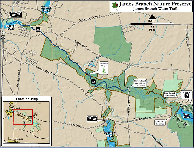 Trap Pond State Park (James Branch Nature Preserve)