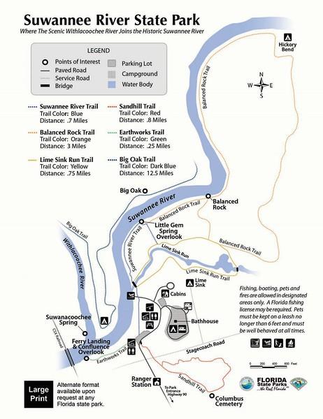 Suwannee River State Park (Trails)