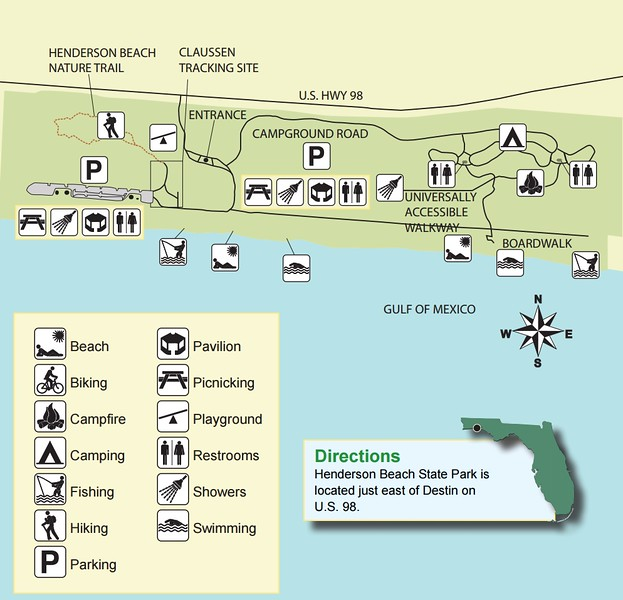 Florida State Parks Map.Florida State Park Maps Dwhike