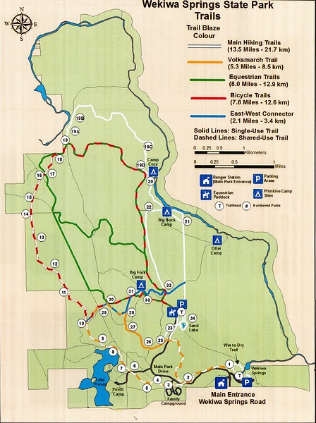 Wekiwa Springs State Park (Trails)