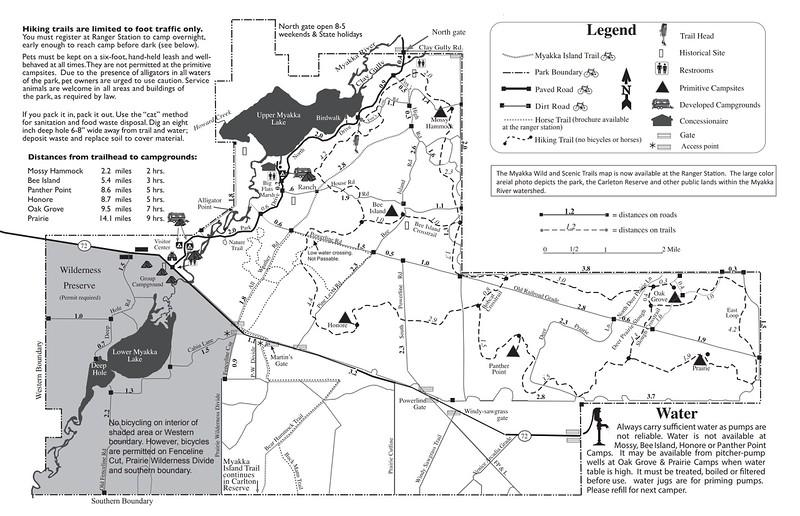 Myakka River State Park (Trails)