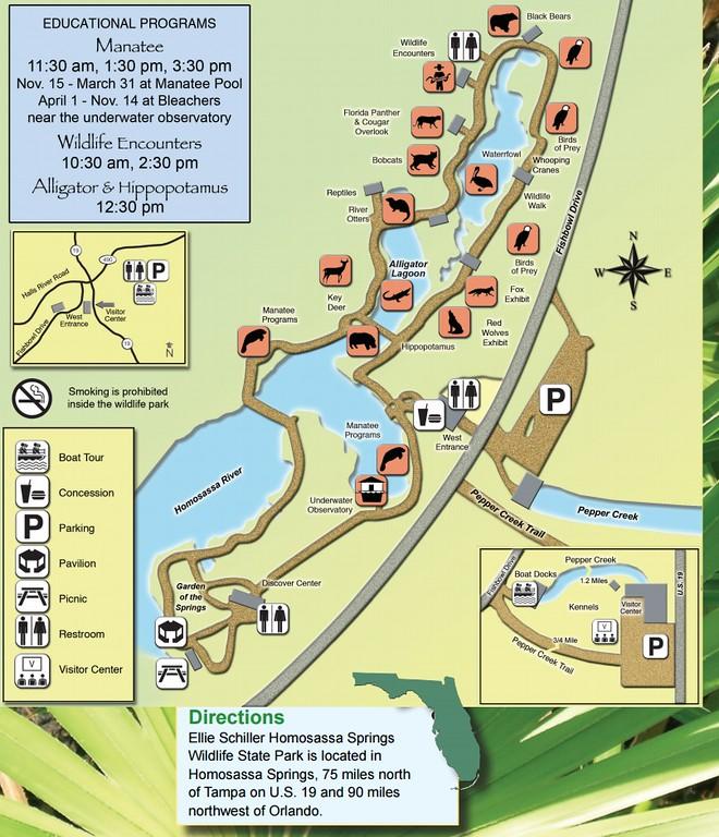 Ellie Shiller-Homosassa Springs Wildlife State Park