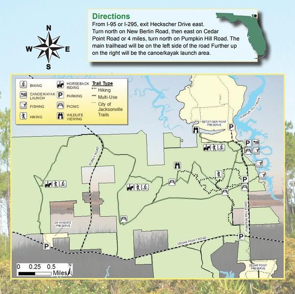 Pumpkin Hill Creek Preserve State Park