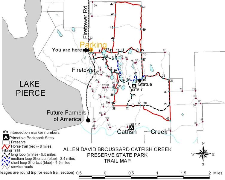 Allen D. Broussard Catfish Creek Preserve State Park