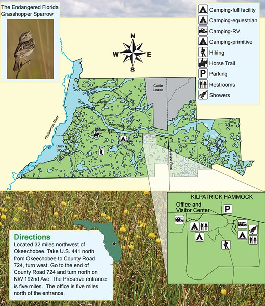 Florida State Parks Camping Map.Florida State Park Maps Dwhike