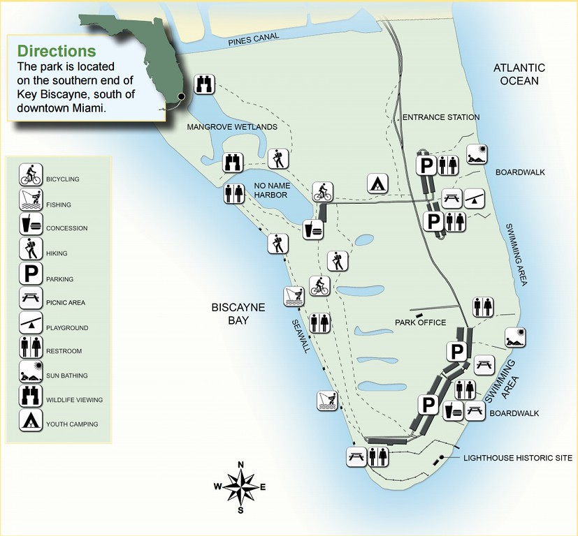 Florida State Park Maps Dwhike - Fl state map