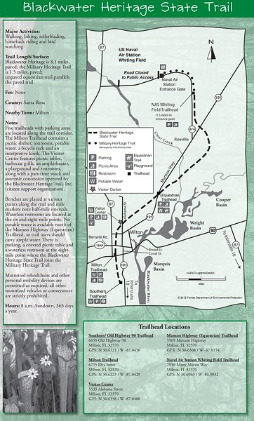 Blackwater Heritage State Trail