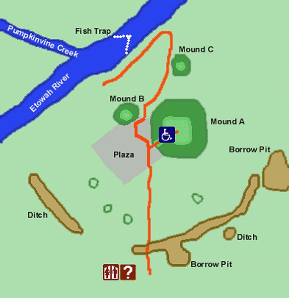 Etowah Indian Mounds Historic Site
