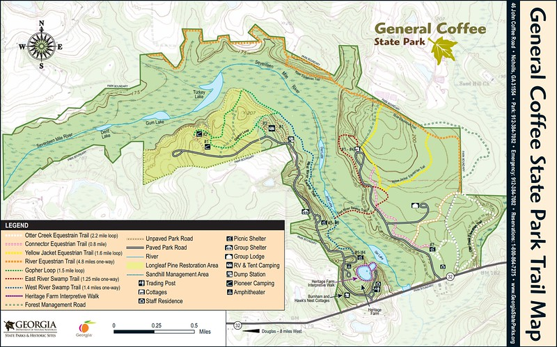 General Coffee State Park (Trail Map)