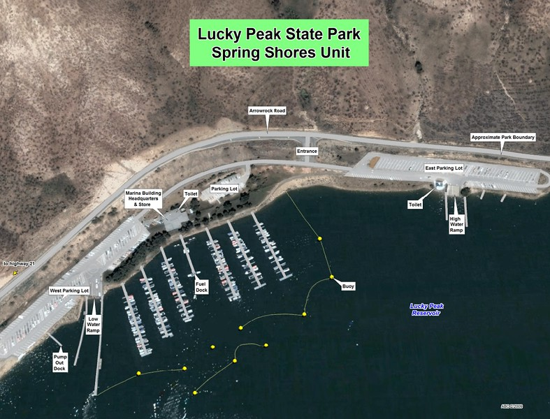 Lucky Peak State Park -- Spring Shores Unit