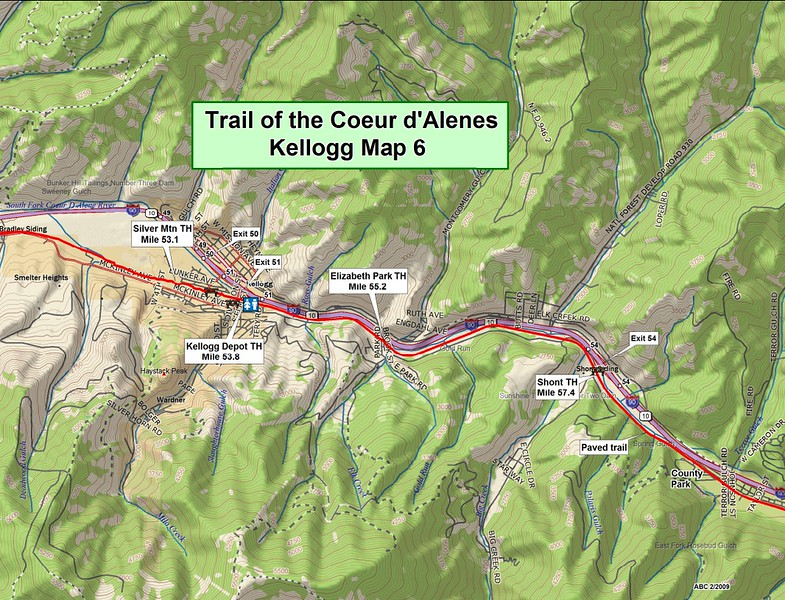 Trail of the Coeur d'Alene's State Park (Section #6)