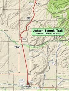 Ashton to Tetonia Trail (Section #4 Map)