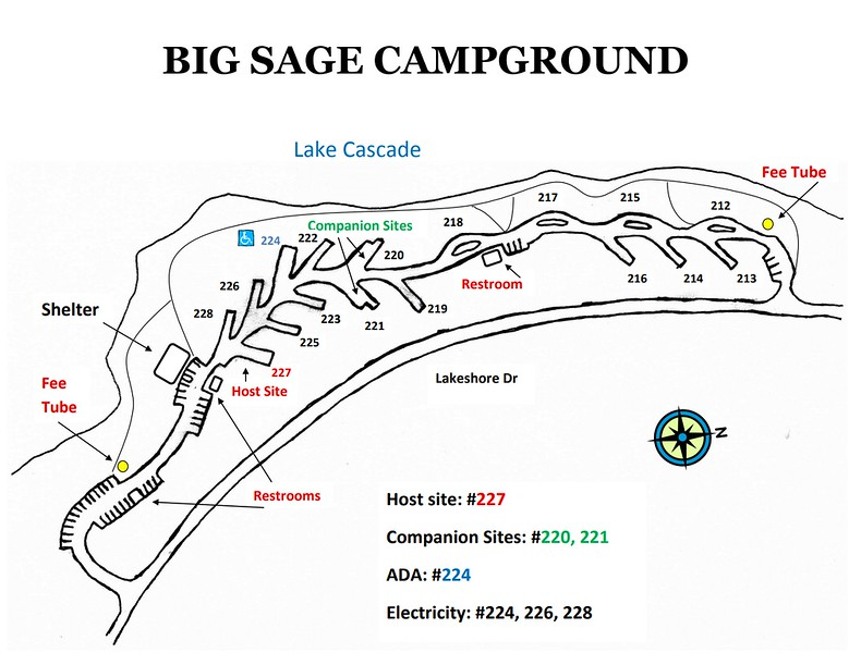 Lake Cascade State Park (Big Sage Campground)