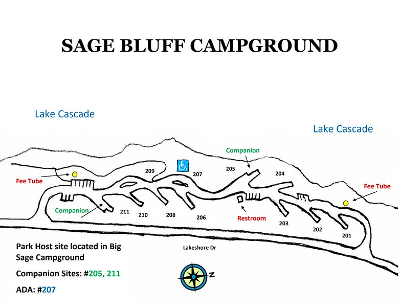 Lake Cascade State Park (Sage Bluff Campground)