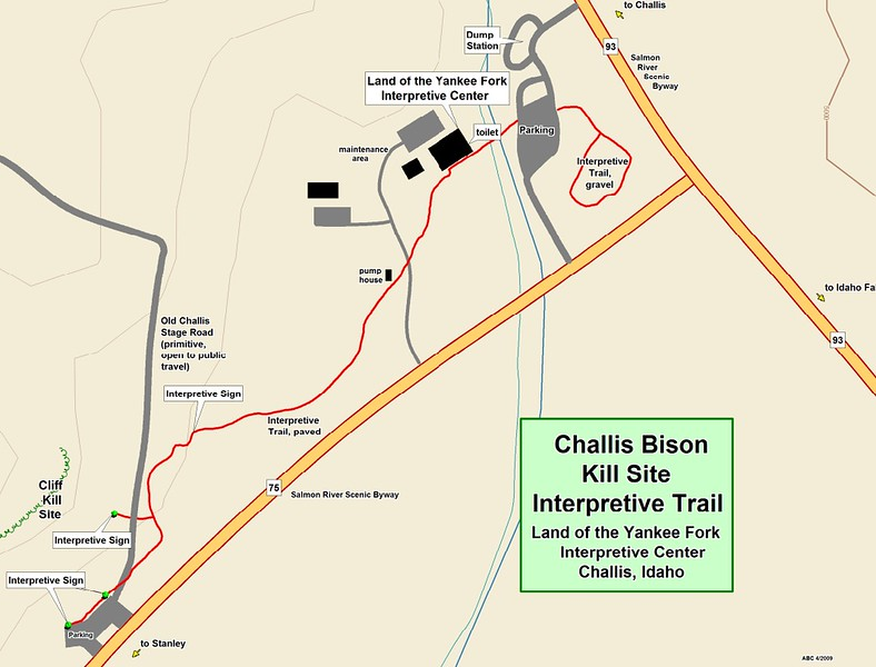 Land of the Yankee Fork State Park (Challis Bison Kill Site Interpretive Trail)