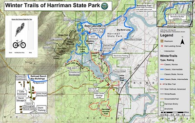Harriman State Park (Winter Trail Map)