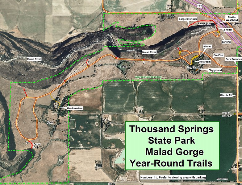 Thousand Springs State Park (Malad Gorge Unit)
