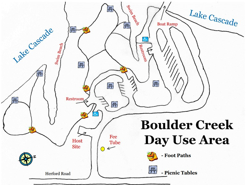 Lake Cascade State Park (Boulder Creek Day Use Area)