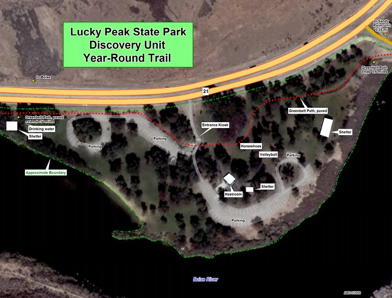 Lucky Peak State Park -- Discovery Unit