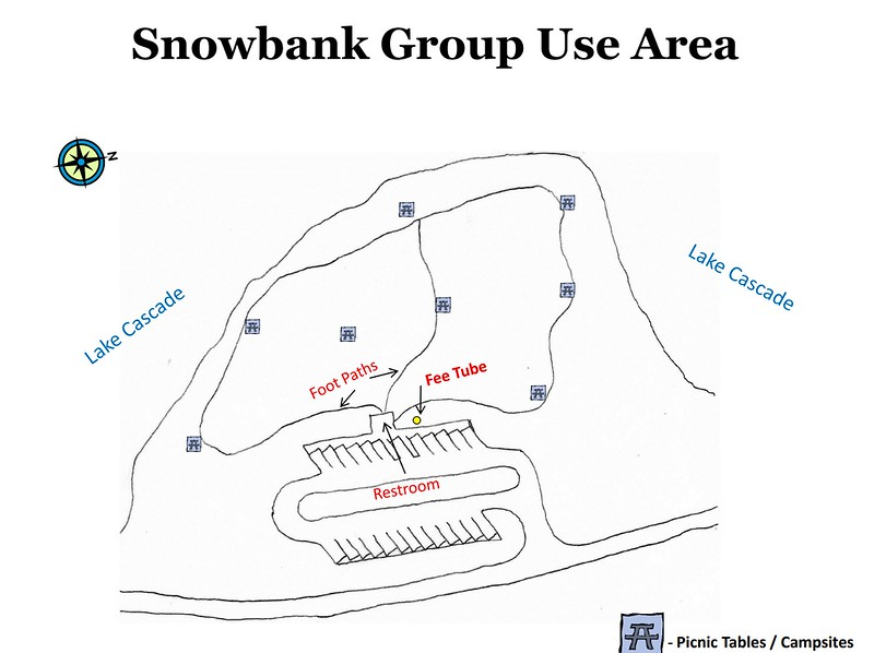 Lake Cascade State Park (Snowbank Group Use Area)